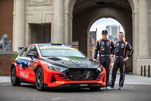 Oliver Solberg, Aaron Johnston, Hyundai i20N Rally2