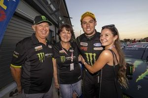 Cameron Waters, Tickford Racing Ford with family