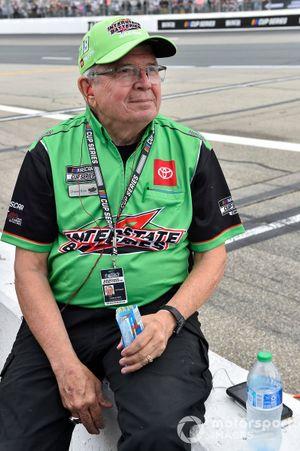 Kyle Busch, Joe Gibbs Racing, Toyota Camry Interstate Batteries, Charlie Brim