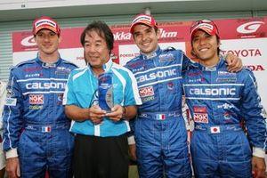 Kazuki Hoshino, Kazuyoshi Hoshino, Benoit Treluyer, Jeremie Dufour
