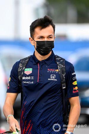 Alex Albon, pilote de réserve, Red Bull Racing