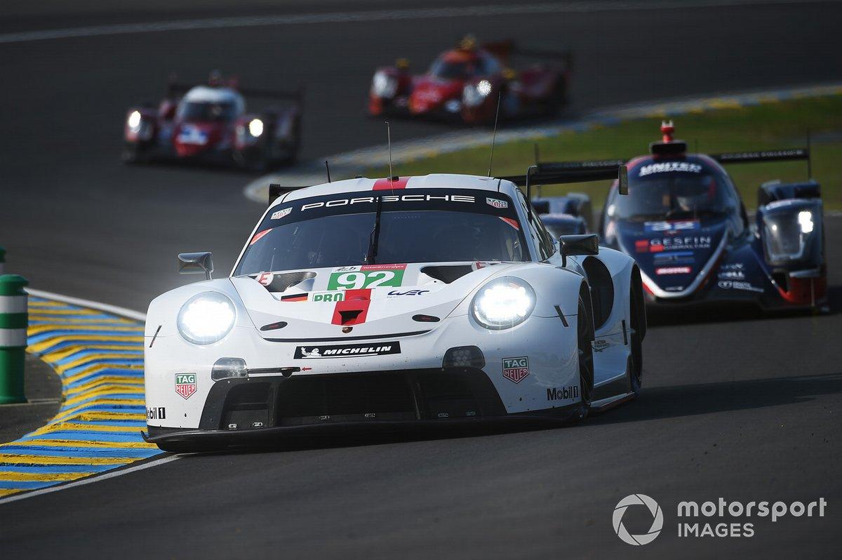 #92 Porsche GT Team Porsche 911 RSR - 19 LMGTE Pro of Kevin Estre, Neel Jani, Michael Christensen