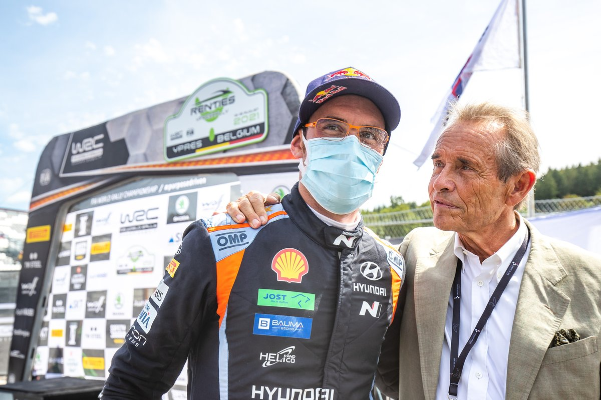 Thierry Neuville, Hyundai Motorsport, Jacky Ickx