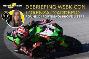 Debriefing WSBK con Lorenza D'Adderio Round Portimao, Prove Libere