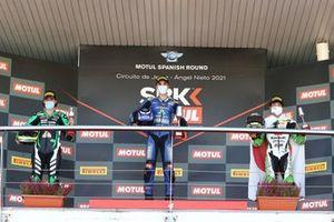 Inigo Iglesias, SMW Racing, Bahattin Sofuoglu, Biblion Yamaha Motoxracing, Yuta Okaya, MTM Kawasaki