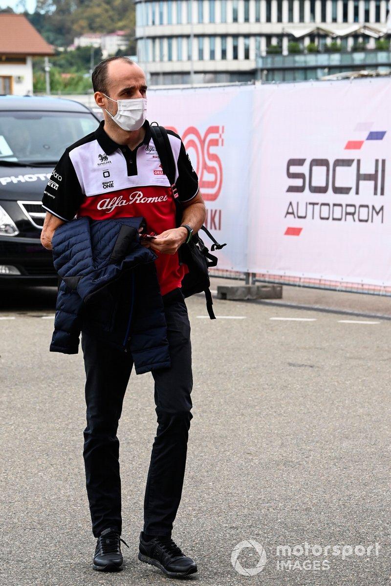 Robert Kubica, piloto reserva de Alfa Romeo Racing