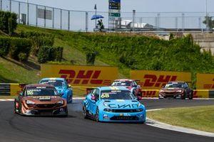 Yann Ehrlacher, Cyan Racing Lynk & Co Lynk & Co 03 TCR, Mikel Azcona, Zengo Motorsport CUPRA Leon Competición