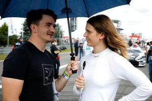 Esmee Hawkey, T3-Motorsport with Jordan Lee Pepper