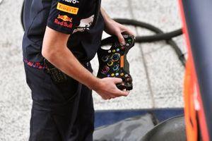 Red Bull Racing RB16B steering detail