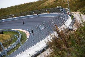 Zandvoort banking on the track