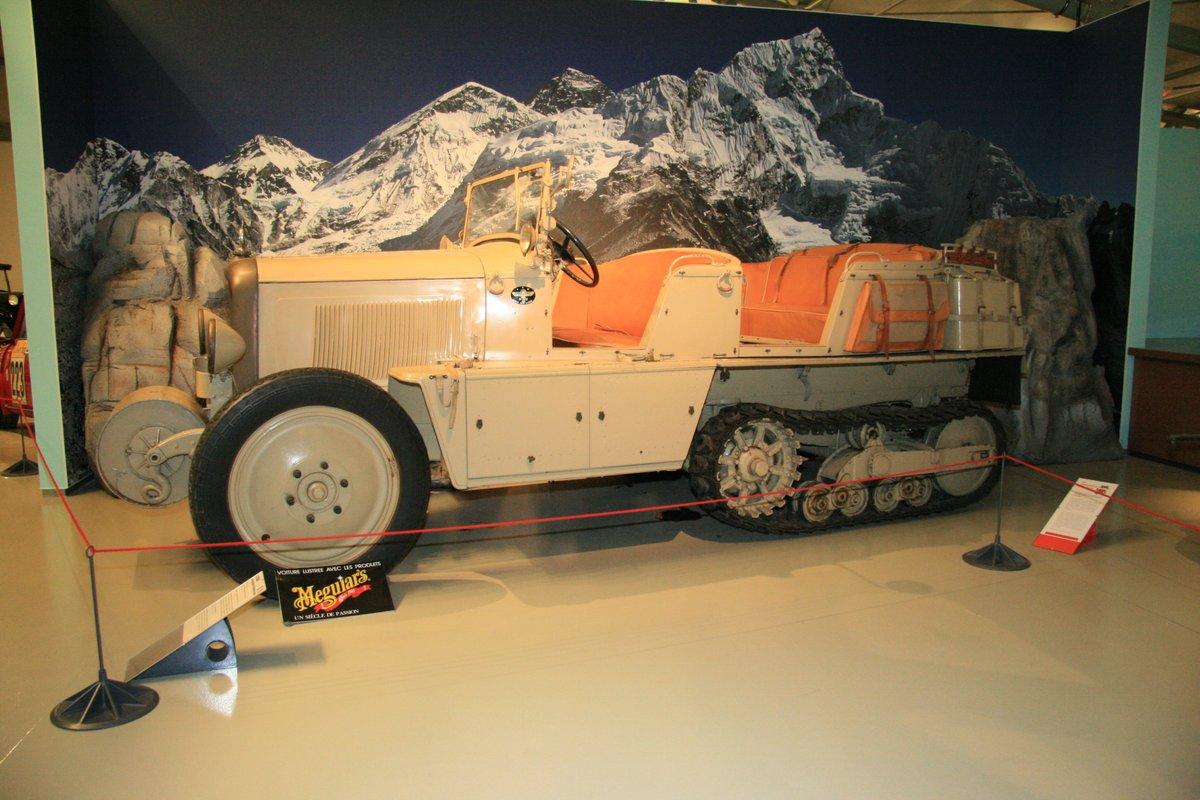 1931年:シトロエン・オートシェニールP17 クロワジエール・ジョーヌ(Citroen Autochenille P17 Croisiere Jaune)