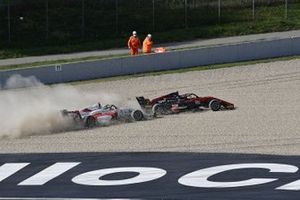 Incidente tra Emidio Pesce, DR Formula e Nico Gohler, KIC Motorsport