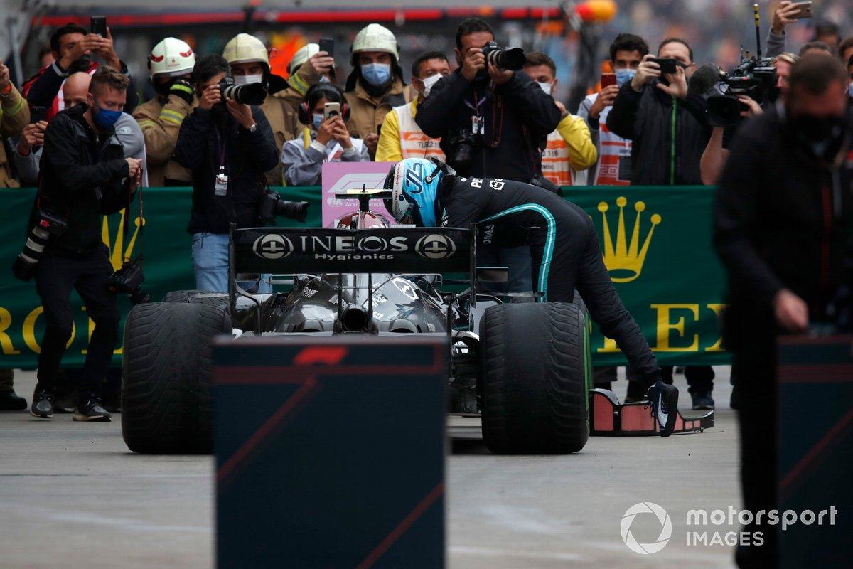 Valtteri Bottas, Mercedes, 1a posizione