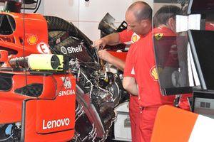 Двигатель Ferrari SF71H