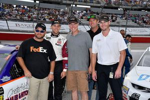 Denny Hamlin, Joe Gibbs Racing, Toyota Camry FedEx Throwback Toyota Camry
