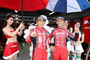 Pole sitters #23 Nismo Nissan GT-R Nismo GT3: Tsugio Matsuda, Ronnie Quintarelli