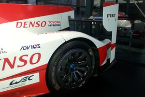 #8 Toyota Gazoo Racing Toyota TS050: Sébastien Buemi, Kazuki Nakajima, Fernando Alonso, dettaglio