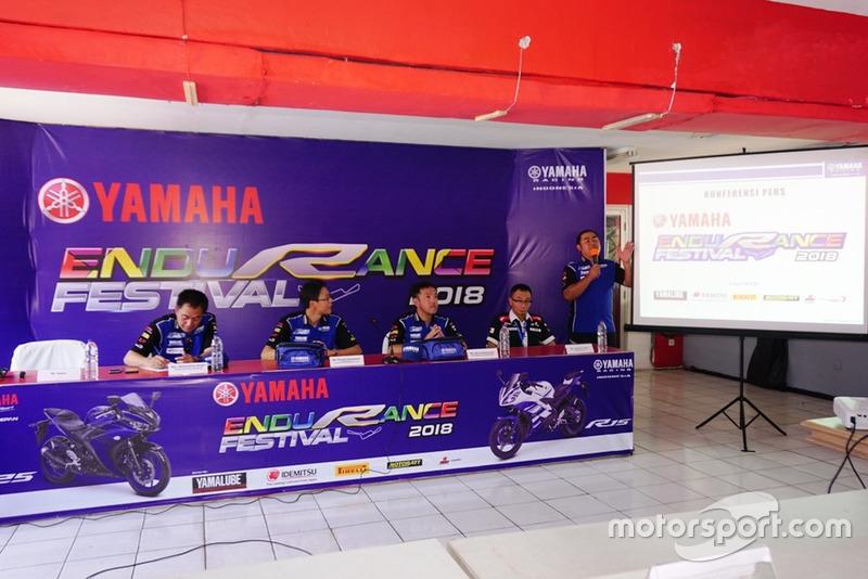 Konferensi pers Yamaha Endurance Festival 2018