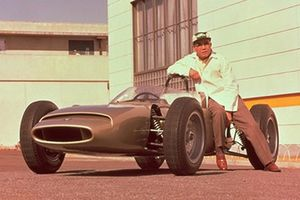 Soichiro Honda & Honda RA270 - 1964