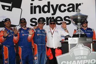 IndyCar-Champion 2018: Scott Dixon, Chip Ganassi Racing Honda, mit Chip Ganassi