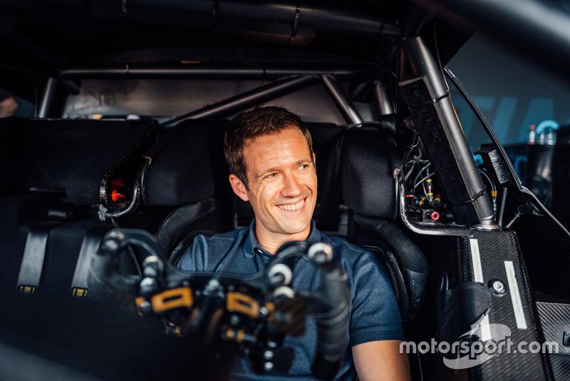 Sebastien Ogier im Mercedes-AMG C 63 DTM