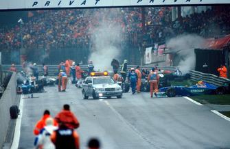 Las secuelas de uno de los peores accidentes de F1