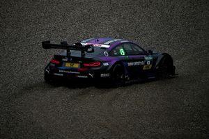 Joel Eriksson, BMW Team RBM, BMW M4 DTM in the gravel