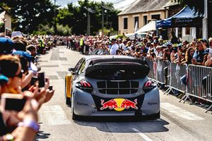 Timmy Hansen, Team Peugeot Total, during the parade