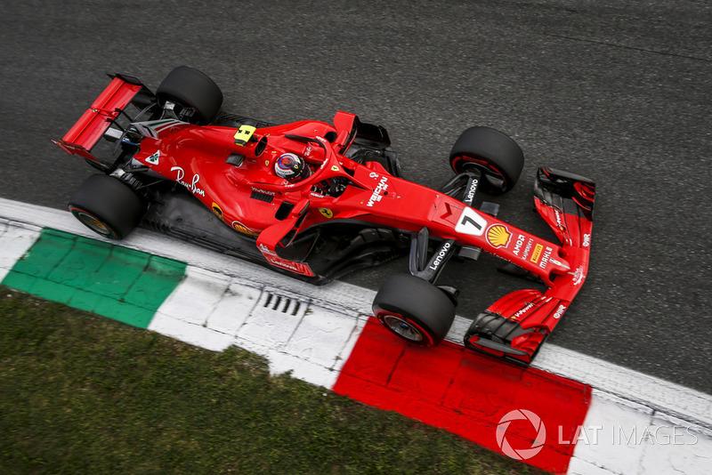 1: Kimi Raikkonen, Ferrari SF71H, 1'19.119