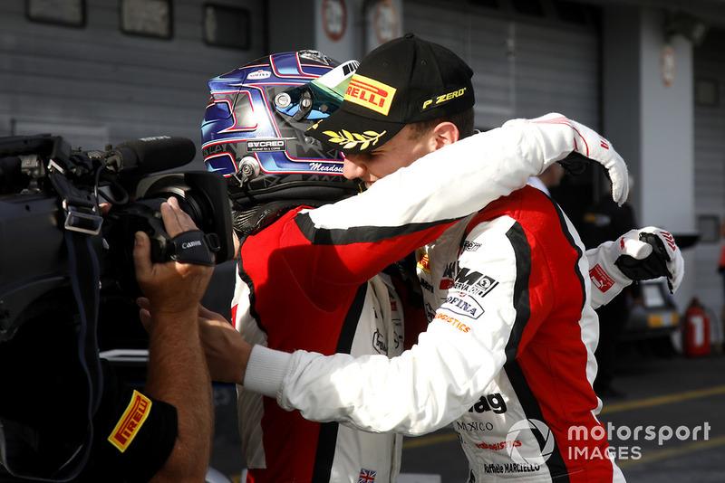 I vincitori #88 Akka ASP Team Mercedes-AMG GT3: Raffaele Marciello, Michael Meadows