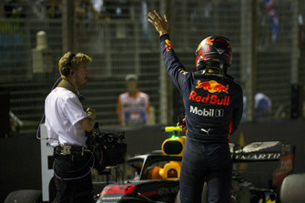 Max Verstappen, Red Bull Racing in parc ferme