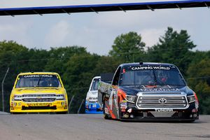 Todd Gilliland, Kyle Busch Motorsports, Toyota Tundra Frontline and Cody Coughlin, GMS Racing, Chevrolet Silverado JEGS.com