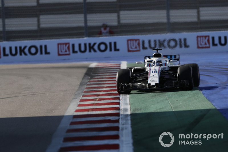 14: Лэнс Стролл, Williams FW41, 1'36.437