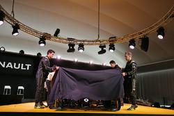 Jolyon Palmer, Renault F1 Team, Esteban Ocon, Renault Sport F1 Team testrijder Kevin Magnussen, Rena