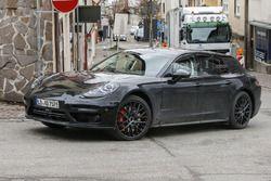 Porsche Panamera Shooting Brake spyshot