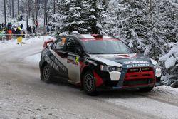 Alain Foulon, Gilles Delarche, Mitsubishi EVO X