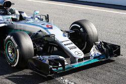 Nico Rosberg, Mercedes AMG F1, Frontflügel