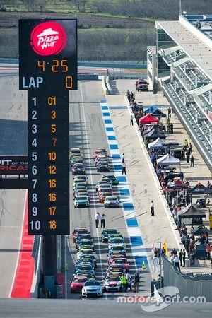 TC, TCA, TCB Rennklassen sind bereit für das Rennen
