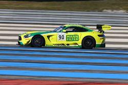 #90 Team Zakspeed Mercedes Benz SLS AMG GT3