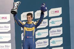 Podium: derde plaats Sébastien Buemi, Renault e.Dams