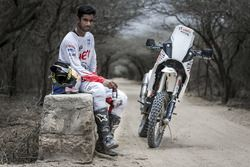 CS Santosh, Hero MotoSports Team Rally en Mandvi