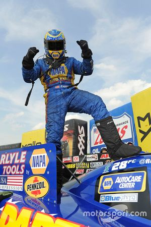 Funny Car winner Ron Capps