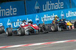 Nick Cassidy, Prema Powerteam, Dallara F312 - Mercedes-Benz; Sérgio Sette Câmara, Motopark, Dallara