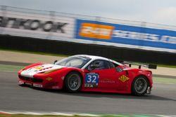 #32 MJC - Furlonger Ferrari F458GT: Witt Gamski, Phil Dryburgh, Rory Butcher, Keith Robinson
