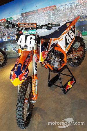 MX2-motor van Davy Pootjes