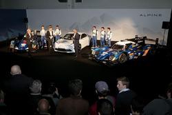 #35 Baxi DC Racing Alpine A460 - Nissan: David Cheng, Ho-Pin Tung, Nelson Panciatici, #36 Signatech