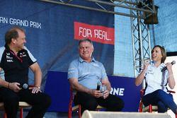 Robert Fernley, Sahara Force India F1 Team Geçici Tekım Patronu ve Dave Ryan, Manor Racing Yarış Dir