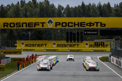 Starting grid of race 1