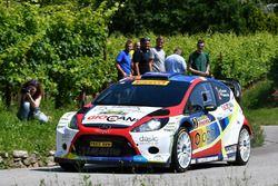 Tobia Cavallini, Sauro Farnocchia, Ford Fiesta WRC #2