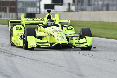 Brad Keselowski testet IndyCar